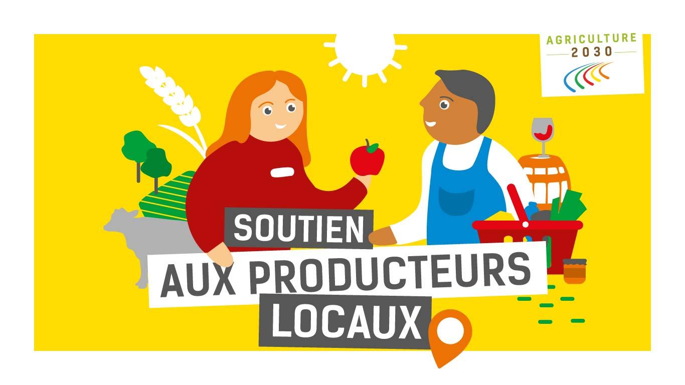 Soutien aux producteurs locaux