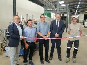Inauguration de la nouvelle chaîne de rénovation pour réservoirs GPL