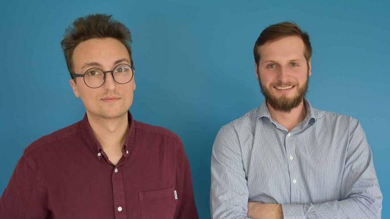 Hugo Lucas et Paul Taton, fondateurs de Revcoo