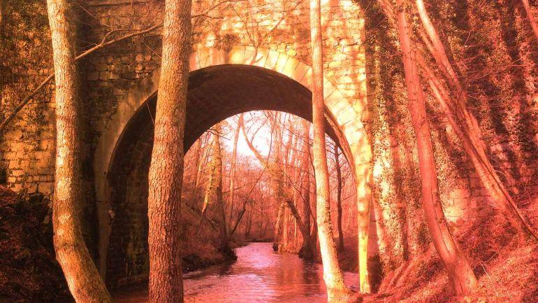 Pont route de Corrandin